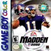Madden NFL 2002 Nintendo Game Boy Color cover artwork
