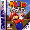 Mario Golf Nintendo Game Boy Color cover artwork