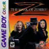 Mask of Zorro, The Nintendo Game Boy Color cover artwork