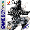 Metal Gear Solid Nintendo Game Boy Color cover artwork
