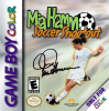 Mia Hamm Soccer Shootout Nintendo Game Boy Color cover artwork
