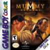 Mummy Returns, The Nintendo Game Boy Color cover artwork