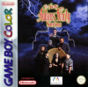 New Addams Family Series, The Nintendo Game Boy Color cover artwork