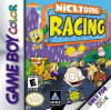 Nicktoons Racing Nintendo Game Boy Color cover artwork
