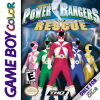 Power Rangers - Lightspeed Rescue Nintendo Game Boy Color cover artwork