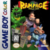 Rampage - World Tour Nintendo Game Boy Color cover artwork