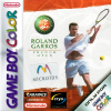 Roland Garros French Open Nintendo Game Boy Color cover artwork