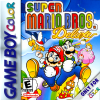 Super Mario Bros. Deluxe Nintendo Game Boy Color cover artwork