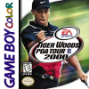 Tiger Woods PGA Tour 2000 Nintendo Game Boy Color cover artwork
