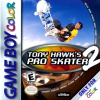 Tony Hawk's Pro Skater 2 Nintendo Game Boy Color cover artwork