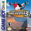 Tony Hawk's Pro Skater 3 Nintendo Game Boy Color cover artwork