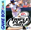 Triple Play 2001 Nintendo Game Boy Color cover artwork