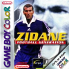 Zidane Football Generation Nintendo Game Boy Color cover artwork