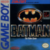Batman - The Video Game Nintendo Game Boy cover artwork