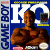 George Foreman's KO Boxing Nintendo Game Boy cover artwork