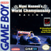 Nigel Mansell's World Championship Nintendo Game Boy cover artwork