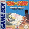 Tom and Jerry - Frantic Antics! Nintendo Game Boy cover artwork