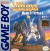 Ultima - Runes of Virtue II Nintendo Game Boy cover artwork