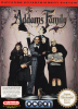 Addams Family, The Nintendo NES cover artwork