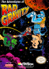Adventures of Rad Gravity, The Nintendo NES cover artwork