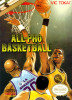 All-Pro Basketball Nintendo NES cover artwork