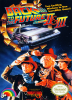 Back to the Future Part II & III Nintendo NES cover artwork