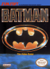 Batman - The Video Game Nintendo NES cover artwork