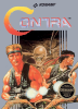 Contra Nintendo NES cover artwork