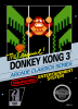 Donkey Kong 3 Nintendo NES cover artwork
