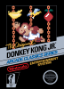 Donkey Kong Jr. Nintendo NES cover artwork