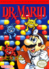 Dr. Mario Nintendo NES cover artwork