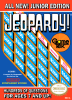 Jeopardy! Junior Edition Nintendo NES cover artwork