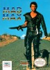 Mad Max Nintendo NES cover artwork
