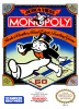Monopoly Nintendo NES cover artwork