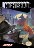 Nightshade Nintendo NES cover artwork