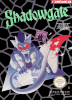 Shadowgate Nintendo NES cover artwork