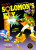 Solomon's Key Nintendo NES cover artwork