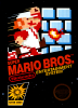 Super Mario Bros. Nintendo NES cover artwork