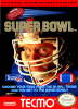 Tecmo Super Bowl Nintendo NES cover artwork