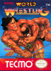 Tecmo World Wrestling Nintendo NES cover artwork