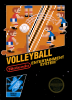 Volleyball Nintendo NES cover artwork