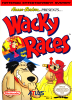 Wacky Races Nintendo NES cover artwork