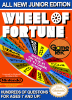 Wheel of Fortune - Junior Edition Nintendo NES cover artwork