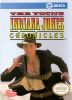 Young Indiana Jones Chronicles, The Nintendo NES cover artwork