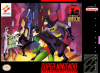 Adventures of Batman & Robin, The Nintendo Super NES cover artwork