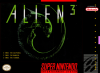 Alien 3 Nintendo Super NES cover artwork