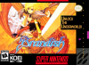 Brandish Nintendo Super NES cover artwork