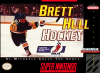 Brett Hull Hockey Nintendo Super NES cover artwork