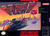 F-Zero Nintendo Super NES cover artwork