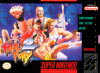 Fatal Fury 2 Nintendo Super NES cover artwork